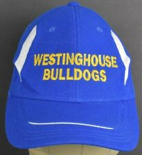 Blue Westinghouse Bulldogs Pittsburgh embroidered baseball hat cap Adjustable