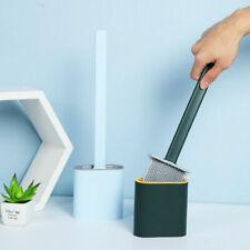2020 Cepillo de Inodoro de silicona con baño titular de cepillo cepillo conjunto de limpieza creativo