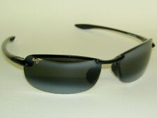 Brand  NEW Authentic Polarized  MAUI JIM MAKAHA Sunglasses  Black Frame 405-02