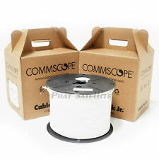 1000ft RG6 Coaxial Cable 2x bulk COMMSCOPE PROFESSIONAL 500ft coax MADE IN USA