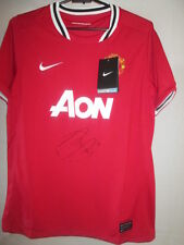 Robin Van Persie Signed Manchester United Home Football Shirt with COA /33060