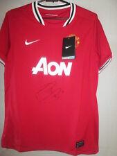 Robin Van Persie Firmado Manchester United Home Football Shirt Con Coa / 33060