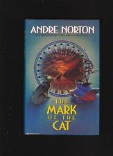 ANDRE NORTON.MARK OF THE CAT. FIRST EDITON. HARDCOVER IN JACKET
