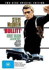 Bullitt (Special Edition) NEW DVD Steve McQueen Robert Duvall REGION 4 Australia