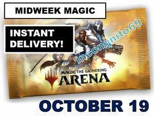 MTG ARENA CODE CARD FNM MIDWEEK MAGIC PROMO PACK OCTOBER 19 - INSTANT EMAIL