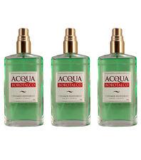 3pz ACQUA DI BOROTALCO Perfumed Deodorant Body Spray deodorante corpo 75ml NUOVI