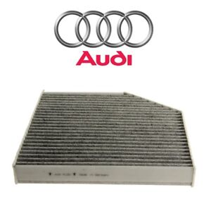 For Audi A6 A7 A8 Quattro RS7 S6 S7 Cabin Air Filter Charcoal Activated Genuine