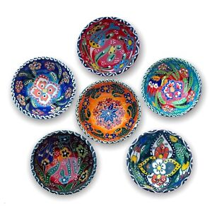 8Cm Hand-made Small Ceramic Bowl for Snack,Tapas, Dessert, Nuts, Olive,Soy Sauce