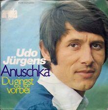 """REDUCED Udo Jürgens Anuschka German 45 7"""" sgl Germany +Du Gingst Vorbei"""