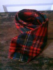 Vtg Pendleton Pure Virgin Wool Usa Tartan Plaid Neck Tie Red Green Navy Yellow