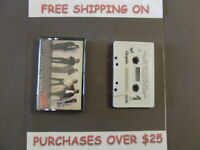 HUEY LEWIS AND THE NEWS FORE! CASSETTE W/ HIP TO BE SQUARE 36