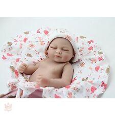 Vintage Vinyl Baby Doll Anatomically Correct Girl Full Body Silicone Reborn Mini