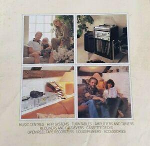 Vintage Sony HIFI Sales Brochure