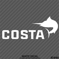 Costa Del Mar Fly Fishing Outdoor Sports Vinyl Decal Sticker - Choose Color