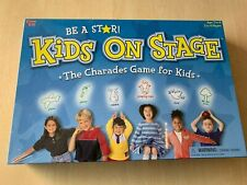 Kids On Stage The Character  Game for Kids Brand New Sealed