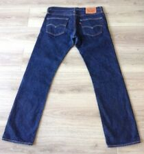 LEVI'S 511 JEANS SELVEDGE SLIM SIZE 34 X 32 RED TAB VGC
