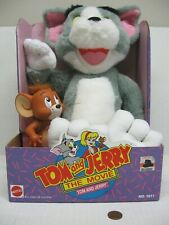 1993 Tom And Jerry The Movie Mattel Plush & Vinyl Toy Figure Set #1511