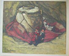 Dipinto a olio di Barbesino Francesco