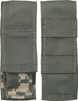 """Gerber USA Knife Sheath Fits up to 4.75"""" Knives Tools Green & Camo Molle 2140"""