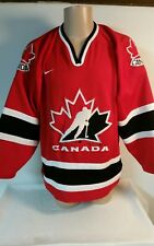 Team Canada Hockey Jersey - 2002 Olympic Home Version - Men's medium stitched