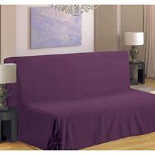 Housses de canapé, fauteuil, et salon violets polyester pour le salon