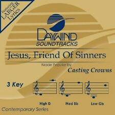 Casting Crowns - Jesus Friend Of Sinners - Accompaniment/Performance Track – New