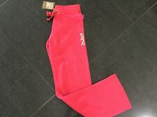 NWT Juicy Couture New & Genuine Girls Age 12 Pink Cotton Pants With Juicy Logo