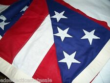 Best Valley Forge AMERICAN FLAG 100% Cotton Bunting MADE IN USA 5' X 9.5' NEW