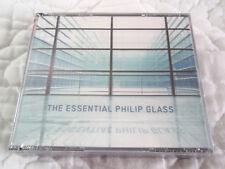THE ESSENTIAL PHILIP GLASS 3 CD'S SET NEW ENSEMBLE MICHAEL RIESMAN YO-YO MA
