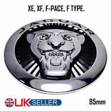 ⭐ JAGUAR Growler griglia Badge emblema Nero 85mm XE & XF, F-Type, F-RITMO ⭐