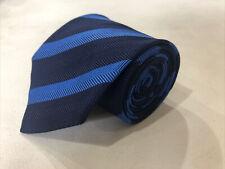 Givenchy Men's Navy Stripe Silk Neck Tie $158