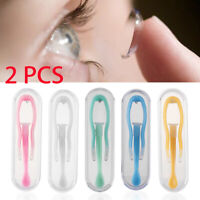 Care Contact Lens Inserter Remover Contact Lens Tweezers Suction Holder Stick