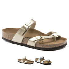 Womens Birkenstock Mayari Birko-Flor Flip Flop Summer Sandals US 4-12.5