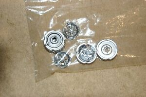 1:24 G SCALE M2 MACHINES CHROMED SHELBY GT350 WHEELS WITH BACKS (4)