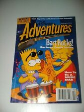 VTG Feb 94' Bart Simpson Janet Jackson Disney Adventures Kids Magazine