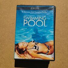 New listing Swimming Pool Charlotte Rampling 60% OFF 4+ DVD $2 Each