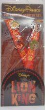 Disney Trading Pins ***  THE LION KING ***   STARTER SET with LANYARD Set of 4
