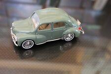 """Miniature 1/43e """" Renault 4 CV """" ( Solido ) série presse"""