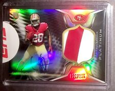 🔥 2014 Topps Platinum CARLOS HYDE /125 Black Refractor Rookie Patch Auto RC! 🔥