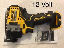 "New Dewalt Xtreme DCF601B 12V Max 1/4"" Hex Brushless ScrewDriver (Bare Tool)"