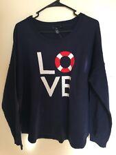 Gap Women's Intarsia Love Sweater Top Msrp$50 XXL -2XL  NWT