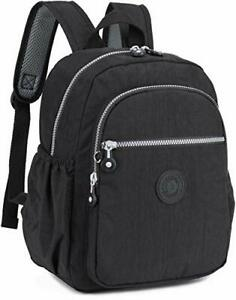 Small Nylon Backpack Mini Casual Lightweight Daypack Backpacks for Women and