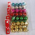 12Pcs 3cm Christmas Tree Balls Decorations Baubles Party Wedding Ornament Xmas