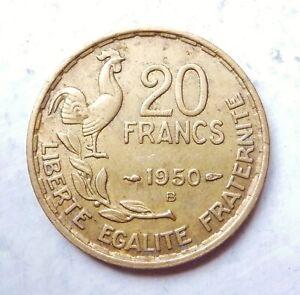 20 francs G.GUIRAUD 1950 B  3 faucilles