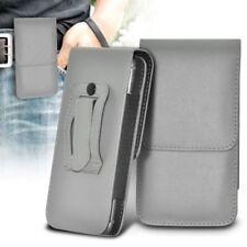 Étuis, housses et coques avec clip gris simples pour téléphone mobile et assistant personnel (PDA)