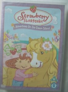 66712 DVD - Strawberry Shortcake Adventures On Ice Cream Island [NEW & SEALE