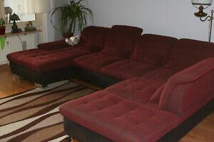 Qualitäts-Wohnlandschaft; Sofa,  erst 3,5 Jahre alt, deutsches Produkt