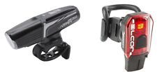 MOON USB Lights VORTEX & ALCOR Front & Rear Lightset re-chargeable Bicycle Bike