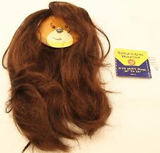 "Build-a-bear Long Curly Brown Wig Fits Most 10"" - 24"""