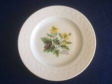 "Royal Worcester Somerset Flowers 6 1/4"" side plate (Black Mustard)"